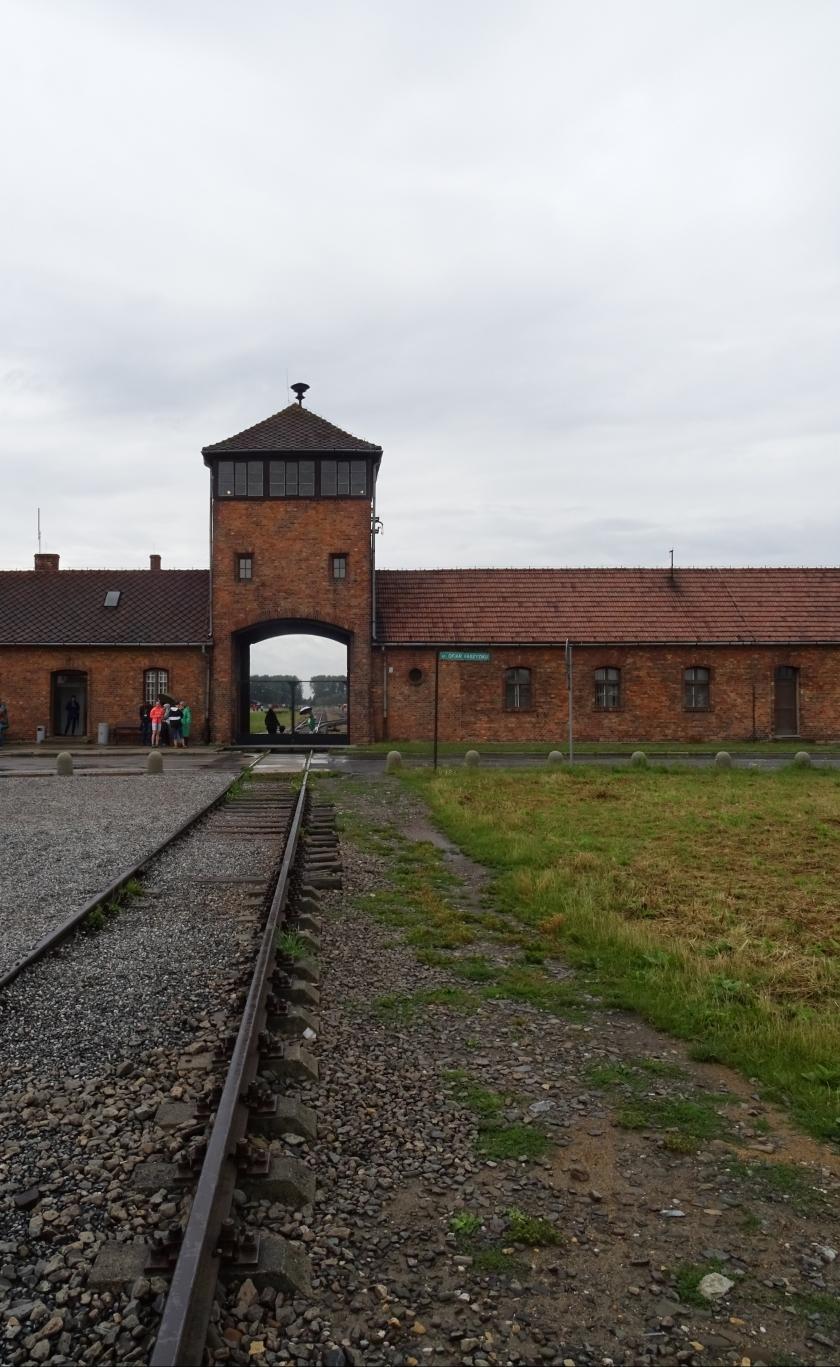 Death Gate. Birkenau